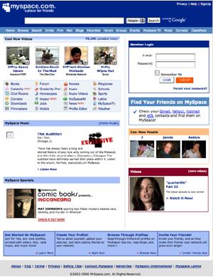 Myspace-before